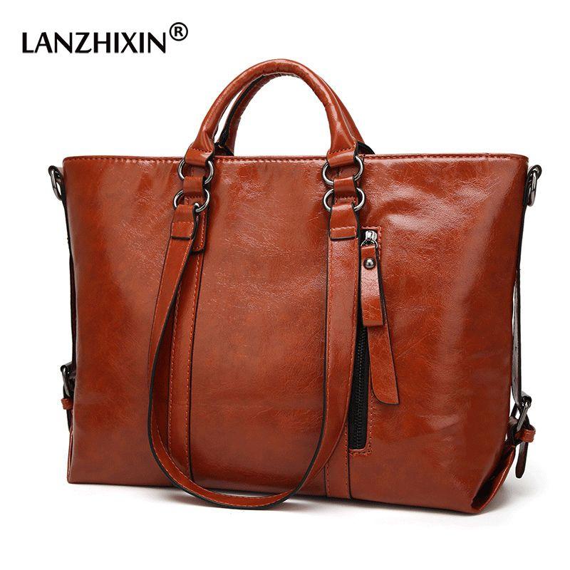 Women Leather Handbags Women Bags For Women Messenger Bags Ladies Designer Crossbody Bags Vintage Retro Tote Top-Handle Bag A003
