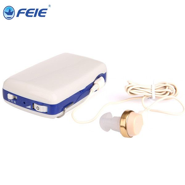 Body Worn Hearing Amplifier S-6A for Tinnitus Devices Ear Listening Aide