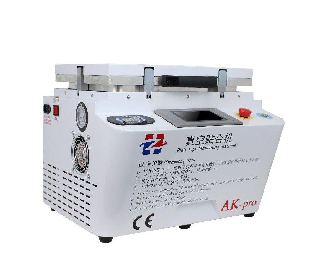 AK PRO oca laminator Vakuum laminierung maschine reparatur lcd renovieren maschine oca laminator maschine für iphone s6 edge