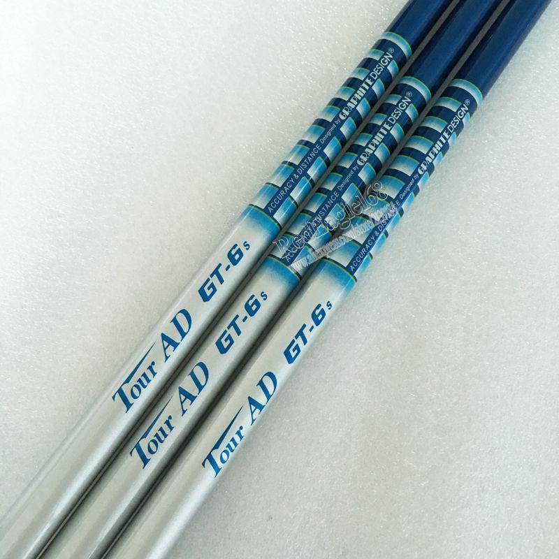 Cooyute New  Golf shaft TOUR AD GT-6 Graphite Golf Clubs shaft R or S flex in choice 1pcs/lot Golf driver shaft Freeshipping