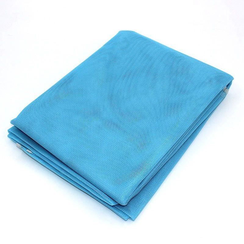 Tapis de plage sans sable tapis de plage bleu Portable tapis de sable anti-dérapant livraison directe