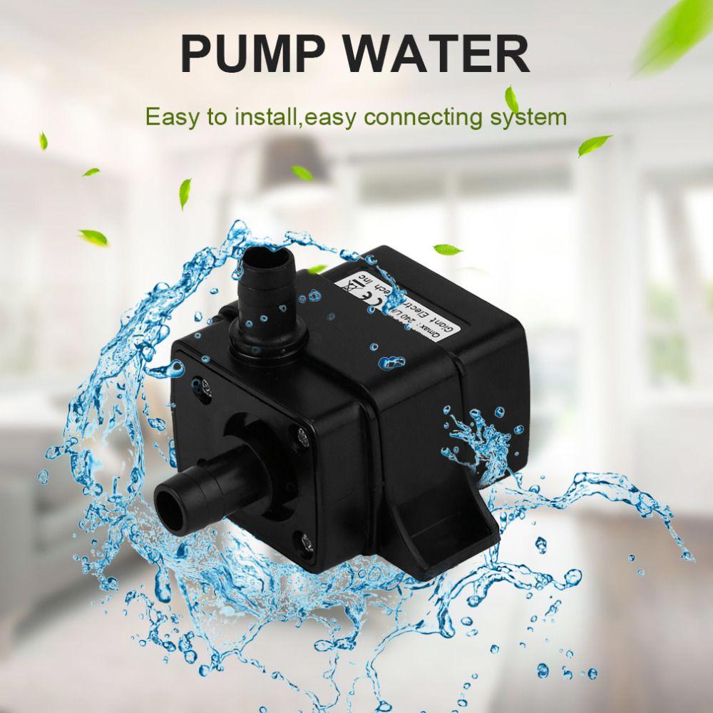 AD20 DC 12 V Hydrokultur Heizung Matratze Lebensmittel Mdical Super Sound-off Wasserkühlung Zyklus Brushless Druckerhöhung DC pumpe