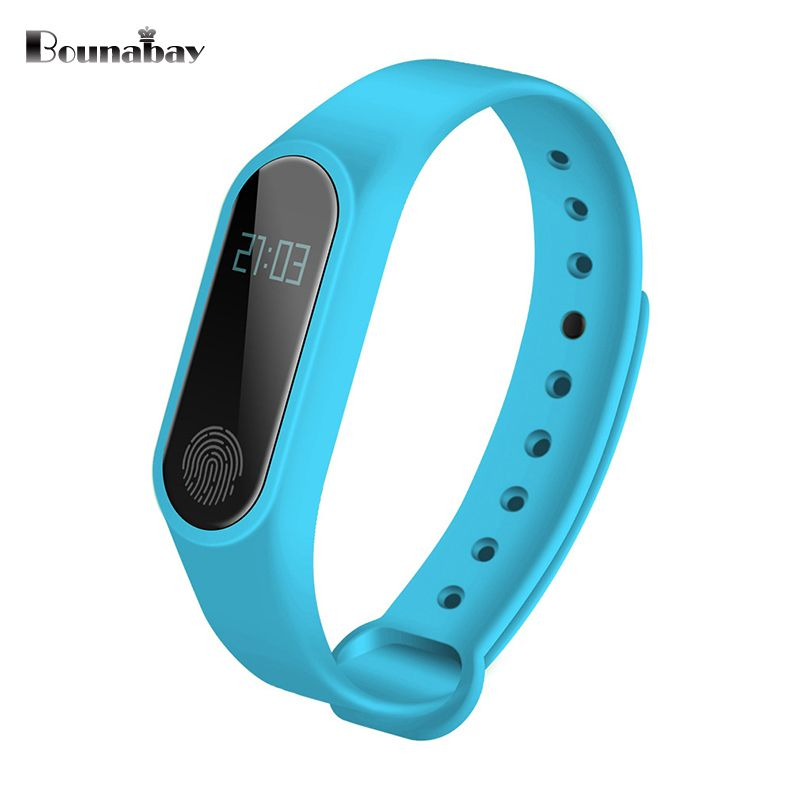 BOUNABAY waterproof Smart Sports Bracelet watch women clocks ladies Bluetooth Android ios phone woman touch clock lady watches