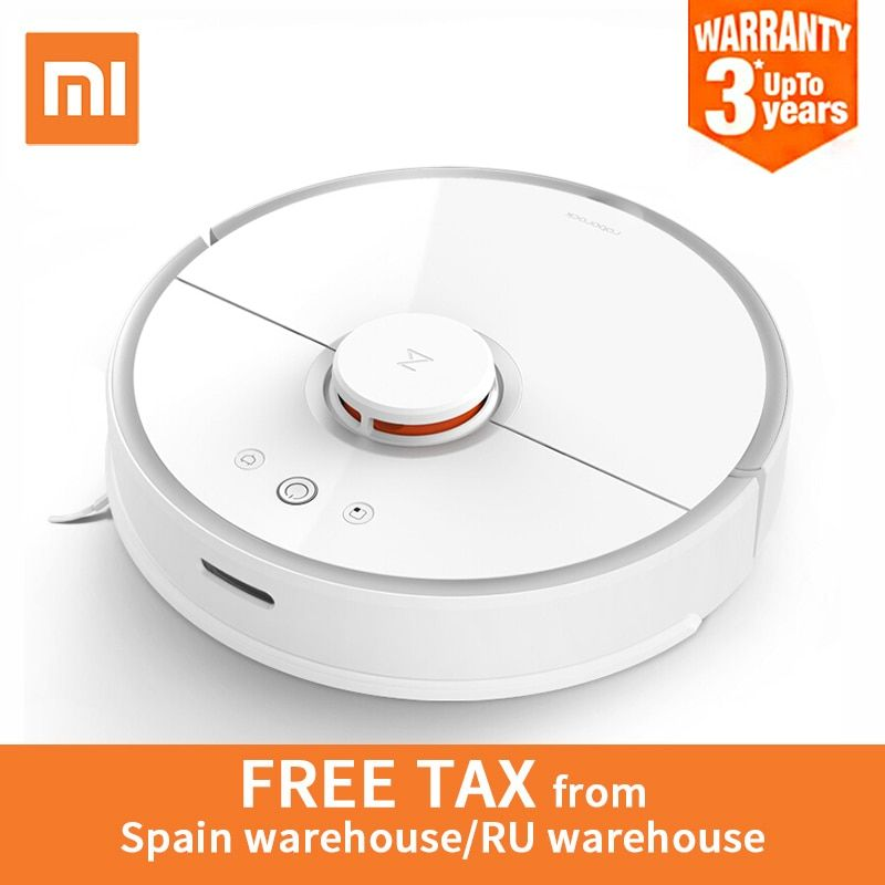 Global Version Xiaomi Roborock S50 Robot Vacuum Cleaner 2 Smart Cleaning Planned for Home Office Wet Mopping Mobile App Control