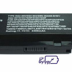 Laptop Baterai untuk HAIER T621 T628 3UR18650-2-T0412 SQU-804 SQU-805 3UR18650-2-T0295 SW8-3S4400-B1B1 3UR18650-2-T0188 916C7830F