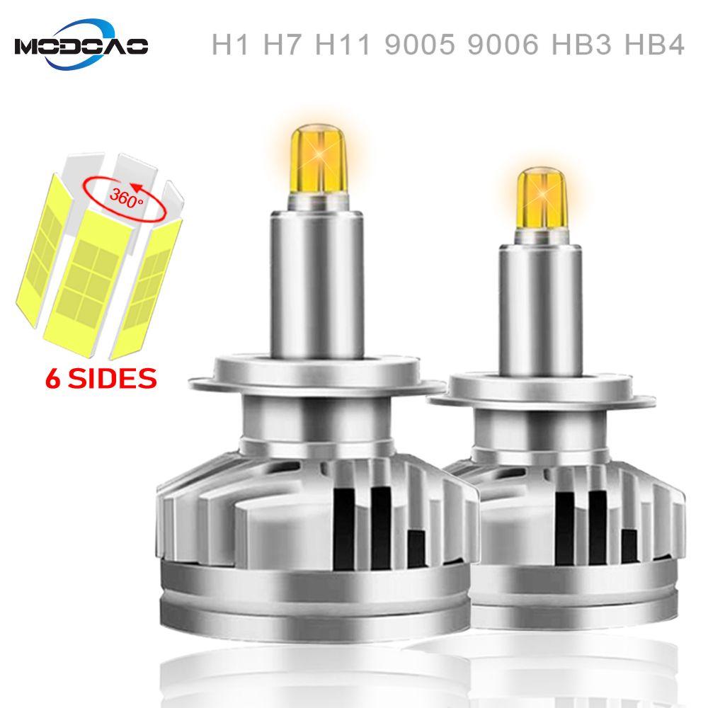 3D 360 grad 18000LM H11 Nebel lichter H7 LED Scheinwerfer HB3 9005 HB4 H3 880 881 Led Canbus Led Auto scheinwerfer H1 9012 Auto Lampen