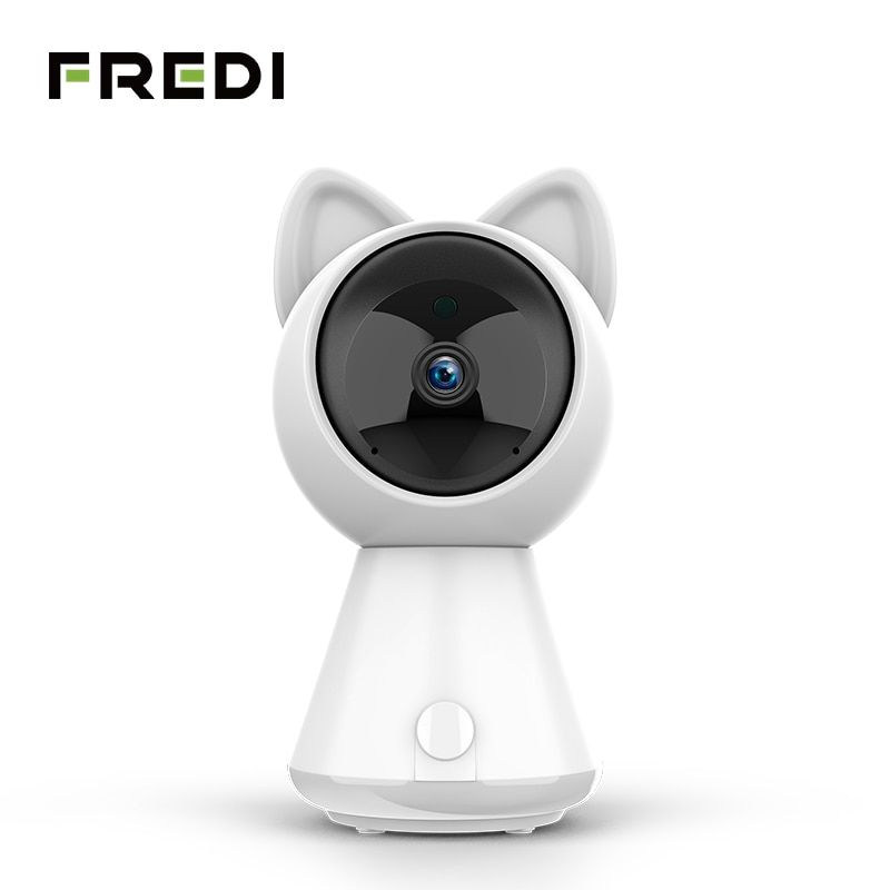 FREDI 1080P Kitty Cloud IP Camera Intelligent Auto Tracking CCTV Camera Home Security Wireless Network WiFi Surveillance Camera