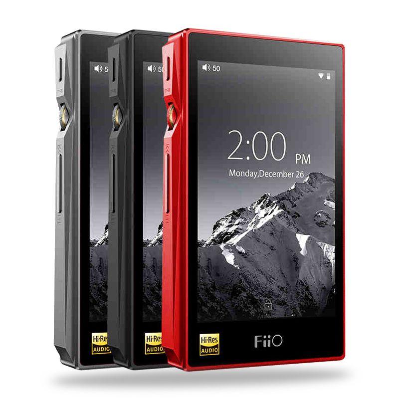 FIIO X5III X5 3nd Gen Android-basierend WIFI Bluetooth APTX Doppel AK4490 Verlustfreie Tragbare Musik-Player mit 32g eingebauter Speicher