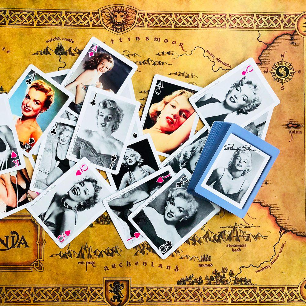 Marilyn Monroe Cartes de Poker Belle Édition Limitée Poker Cartes À Jouer Collections