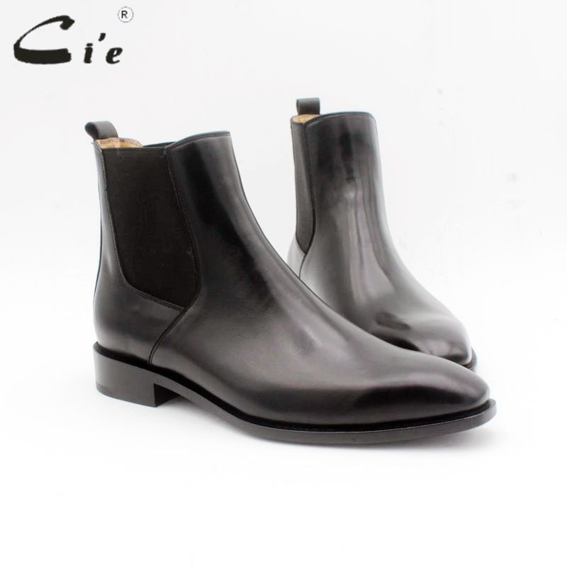 cie Blake men's Chelsea boot genuine calf leather bottom outsole calf leather upper leather inner handmade multiply colors A168