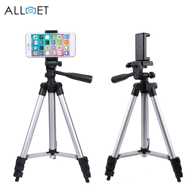 (Déplié 1060mm) Portable Professionnel Caméra Trépied De Haute Qualité Universel Trépied Pour Appareil Photo/Mobile Téléphone/Tablette