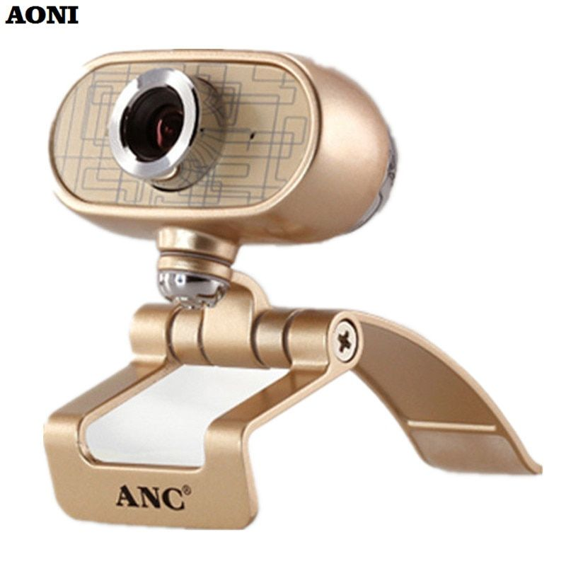 AONI Webcam 1080 P High Definition PC TV Kameras Mit Mikrofon USB Web Cam Auto Defekten pixel Korrektur Für Smart Display