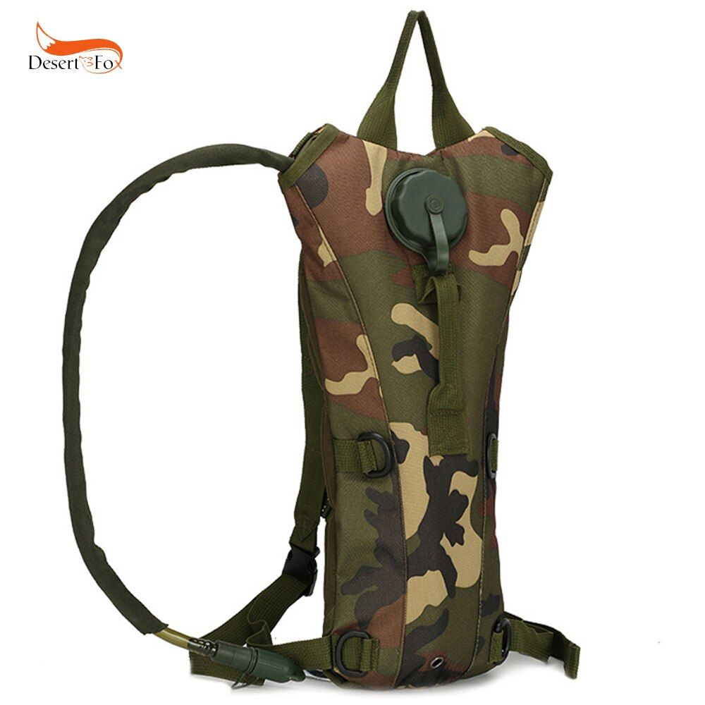 Product Details of 2.5L Tactical Water Bladder Bag Camping Backpack Camelbak Pack Hiking Outdoor - intl 7 Colors