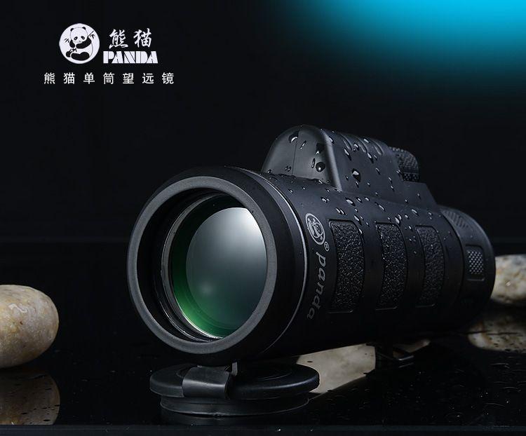 Новый panda hd видения 35 х 50 двойной фокус увеличить монокуляр телескоп открытый охота военные монокуляры бинокль