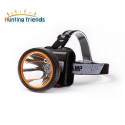 Super Terang Lampu Depan LED Tahan Air Kepala Obor Built-In 3X18650 Baterai Isi Ulang 2 Mode Cahaya Lampu untuk Outdoor