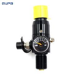 QUPB PCP Paintball HPA Tank Regulator Valve M18*1.5 Thread Black REG001