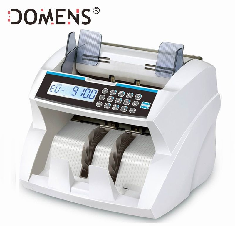 Front Loading Bill Counter with UV/MG/IR/DD Detection Money Counting Machine Suitable for Multi-Currency Cash Counter