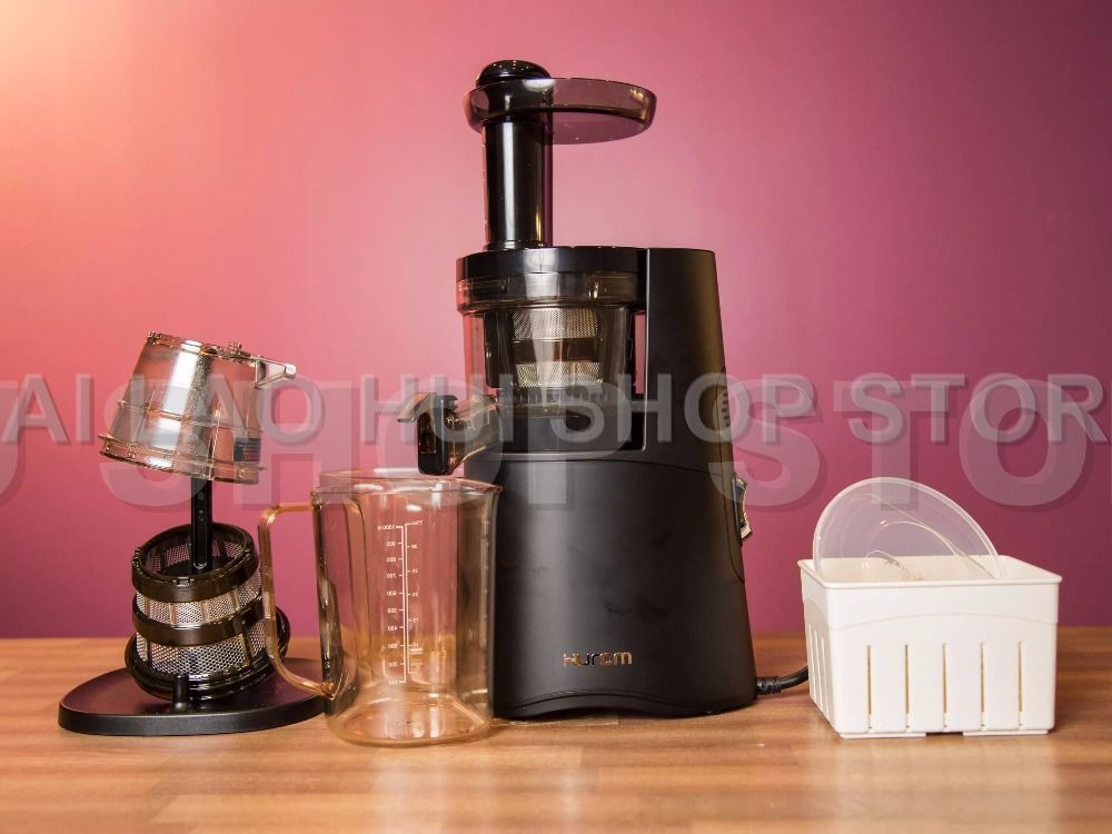 Hurom Alpha H-AA-LBF17 Press Health Juicer Machine 60HZ 220~240V Black NEW Generation HUROM Slow Juicer