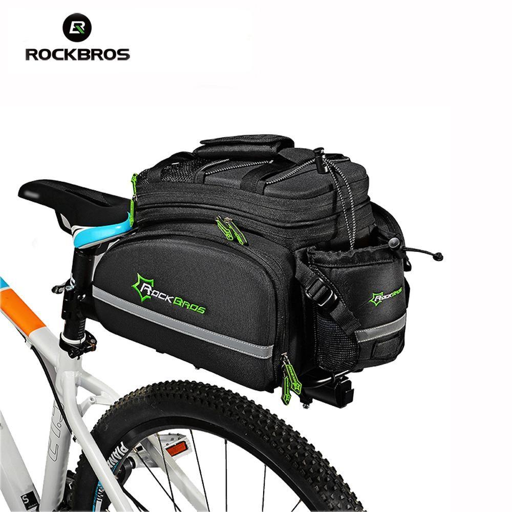 ROCKBROS Fahrrad Tasche Im Freien Radfahren Fahrrad Tasche Multifunktionale Radfahren Rahmen Rack Pack Große Kapazität Reise Fahrrad Zubehör