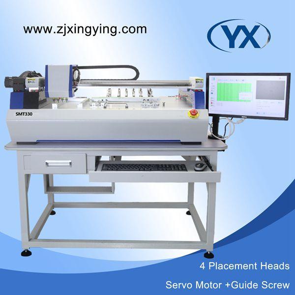 Hohe Stabilität Pick und Ort Gerät, Doppel Visuelle SMD Montage Maschine, PCB Löten Maschine mit Hoher Präzision JUKI Düse