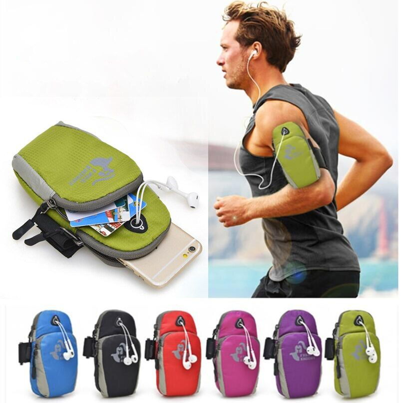 For Samsung Xiaomi Huawei Zte Lenovo Micromax Mobile Phone Under 5.5Inch Waterproof Nylon Running Bag Sport Arm Band Case
