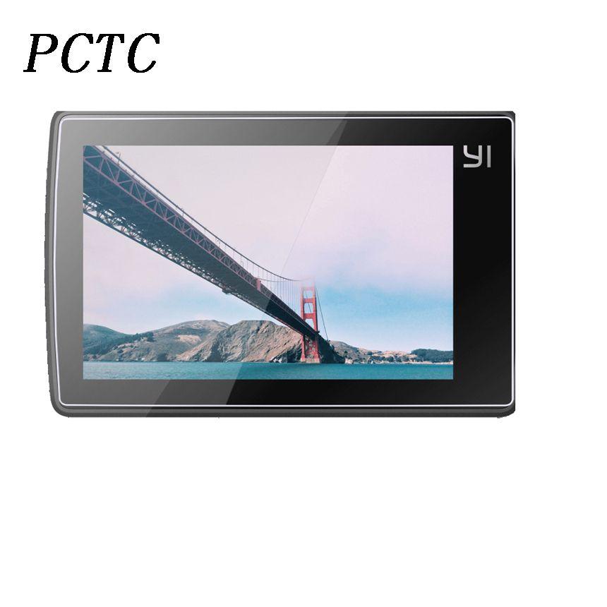 Pctc 3 шт. для Xiaomi Yi 4 К действие Камеры с ЖК-экраном протектор и протектор объектива идеальный радиан закаленное Стекло