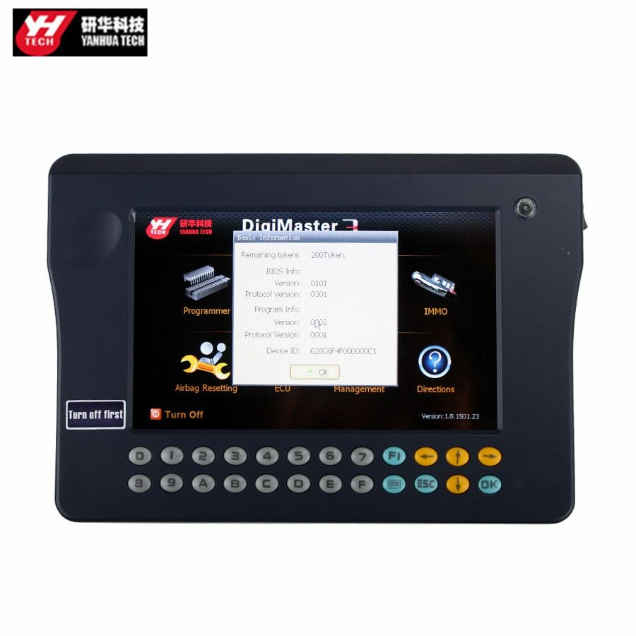 Original Yanhua Digimaster 3 Odometer Correction Master No Token Limitation Latest Version: V1.8.1707.21