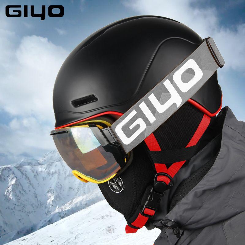 Sicherheit Winter Outdoor Sport Helm Warme Snowboard Ski Helme Männer Frauen Licht Absturz Helm Integral geformten Skate Helm