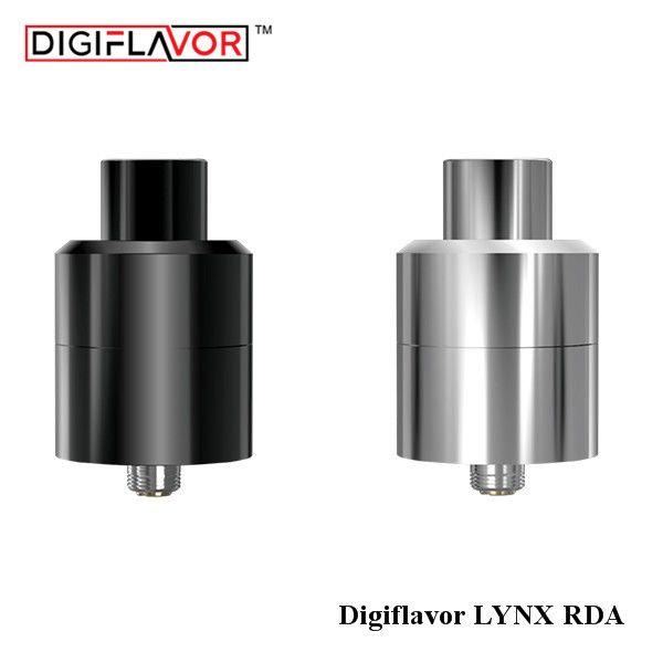 Liquidación!! Original Digiflavor LYNX Tanque RDA 25mm Control de Flujo de aire para MTL 2 ml Goteo Rebuildable Cigarrillo Electrónico atomizador