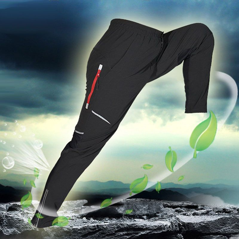 Cycling Fleece Thermal Wind Pants Winter Pants Tights-James Mens Sports Trousers Plus Size Track Padded Windproof Pants