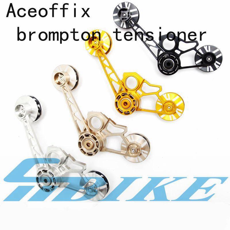 BMX kette spanner für falten brompton fahrrad guide rad 4 farben 123g birdy chainer für 1/2/ 3 geschwindigkeit