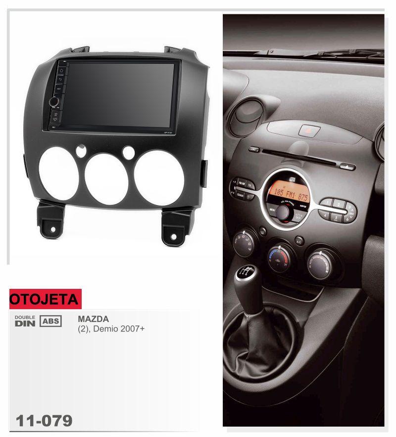 Fit for Mazda 2 Demio 2007+ quad cores android 8.1 frame plus car radio audio stereo multimedia player headunit FM tape recorder