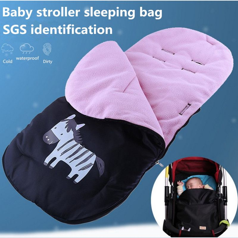 Free shipping Baby stroller sleeping bag Baby carriage cover Environmental fabric Velvet soft SGS certification