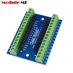 1 Pcs Standard Terminal Adaptateur Conseil Pour Arduino Nano 3.0 V3.0 AVR ATMEGA328P ATMEGA328P-AU Module D'expansion Shiled Module
