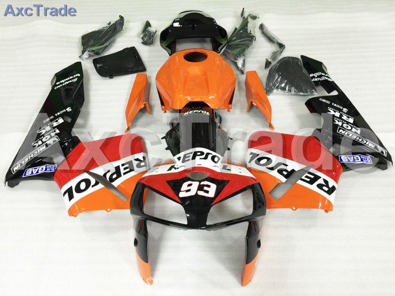 Motorcycle Fairings Kits For Honda CBR600RR CBR600 CBR 600 RR 2005 2006 F5 ABS Plastic Injection Fairing Kit Bodywork Yellow Red
