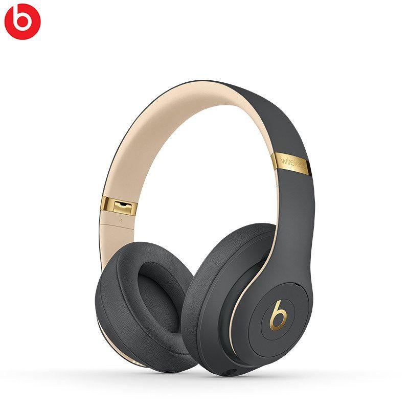 100% Original New Beats Studio3 Wireless Class-1 Bluetooth Noise Cancelling headphones Pure ANC Apple W1 Chip Global Warranty