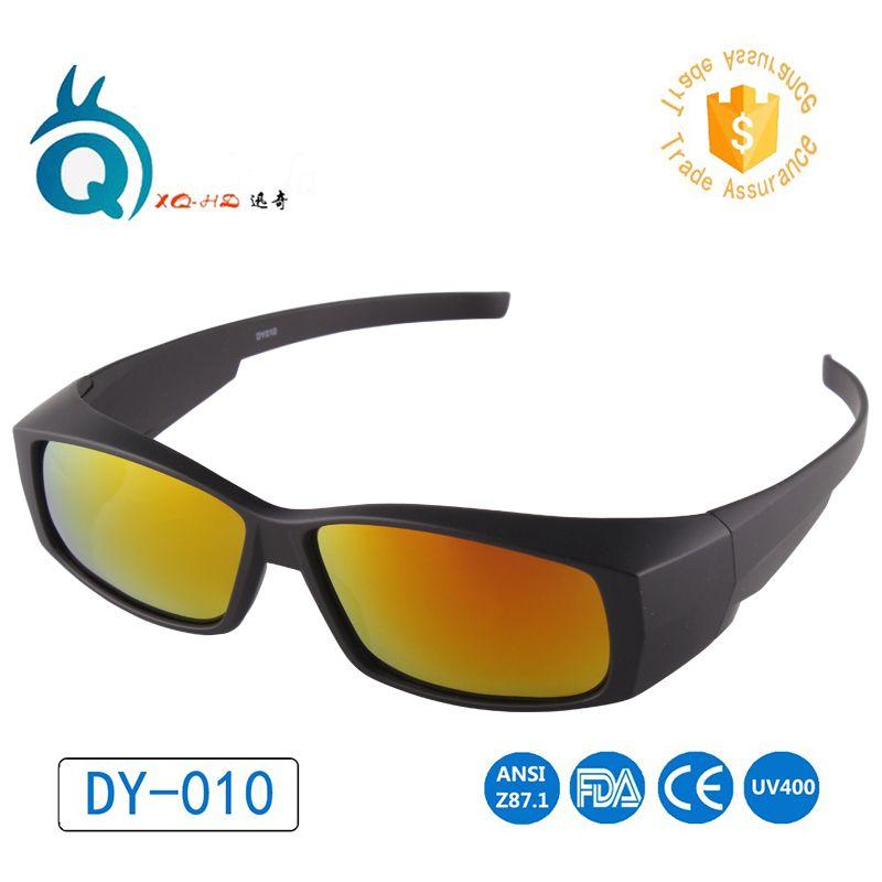 Lentilles polarisées couvre les lunettes de soleil sur les lunettes de soleil porter sur la myopie pour les Sports de course en plein air lunettes de soleil lunettes de Golf