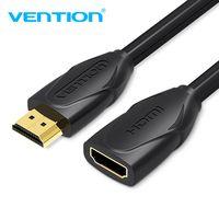 Vention Cable de extensión HDMI 1 M 1,5 m 2 m 3 M 5 M macho a hembra extensor de Cable HDMI 1080 p 3D 1,4 V para HDTV LCD portátil PS3 para proyector