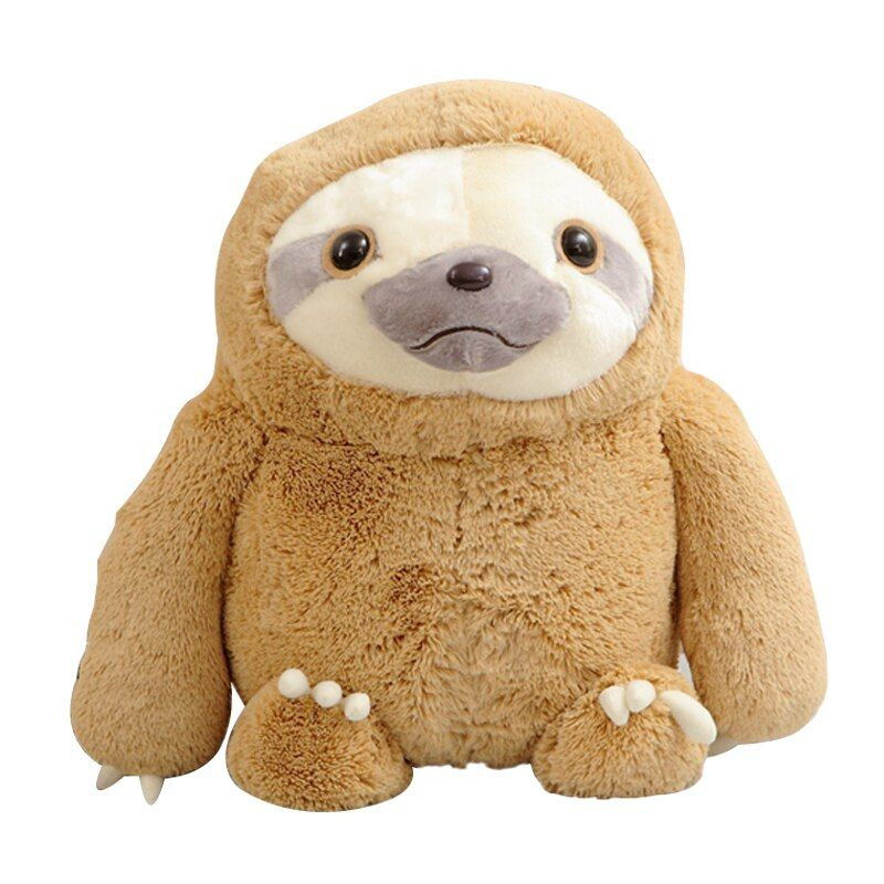 1pc 40cm New Crazy Animal <font><b>City</b></font> Cute Sloth The Anime Movie Zootopia Sloth Flash Stuffed Animals Cute Doll For Girl