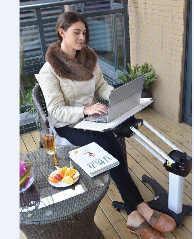 Patente de Invención Kesrer-02 Kesrer 02 PS Soporte Perezoso Sofá Cama Escritorio Del Ordenador Portátil Multifuncional Ascensor Mesa de Ordenador Móvil