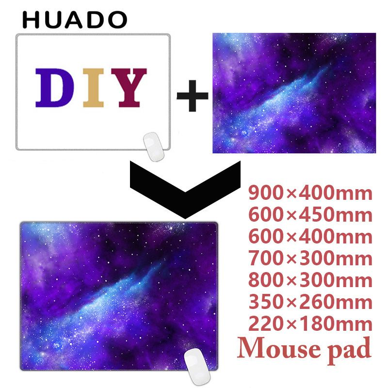 Cojín de ratón alfombrilla de ratón personalizada DIY alfombra grande para gamer/cs ir/corsario/dota 2/overwatch