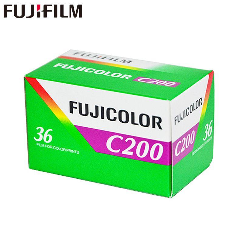 1 pc Fujifilm C200 Couleur 35mm Film 36 L'exposition pour 135 Format Caméra Lomo Holga 135 BC Lomo Caméra dédié