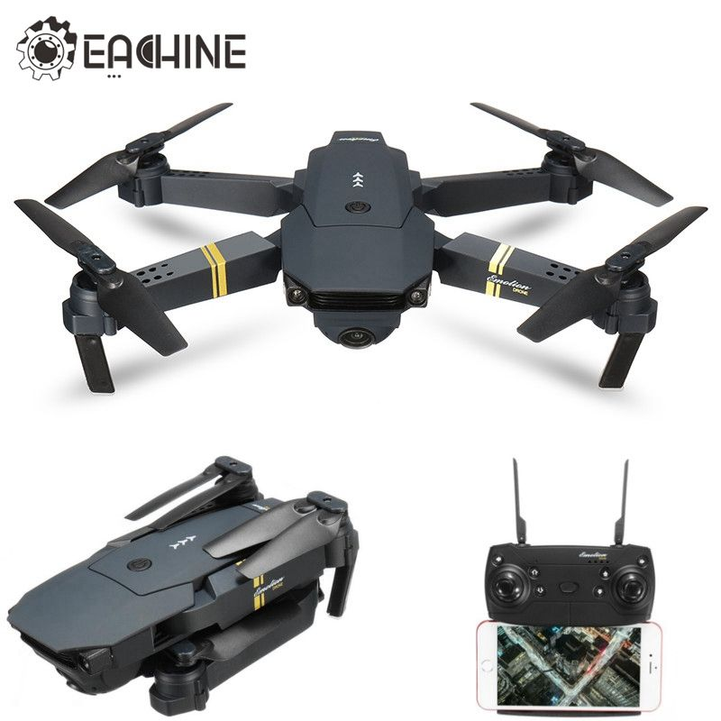 D'origine Eachine E58 WIFI FPV Avec Grand Angle HD Caméra Haute Tenue Mode Pliable Bras RC Quadcopter RTF VS VISUO XS809HW JJRC H37