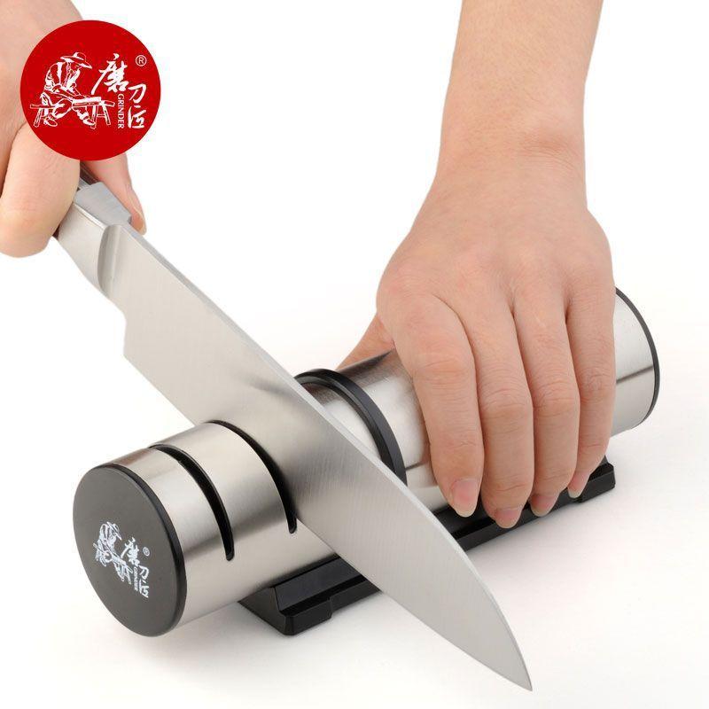 TAIDEA Portátil Marca Accesorios de Cocina Cuchillo de Cocina Afilador Profesional 3 Ranuras Elección Cuchillo Whetstone Ginder T1202DC h4