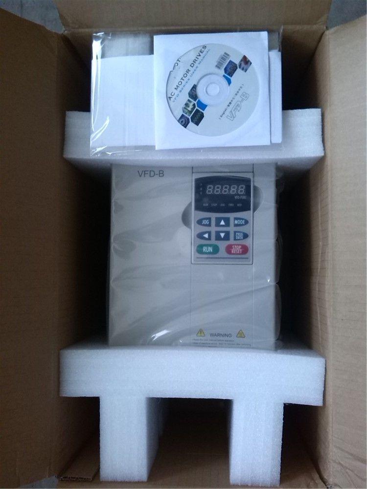 VFD110B23A VFD-B VFD Inverter Frequenz konverter 11kw 15HP 3 PHASE 220 V 400 HZ Allgemeine vector typ