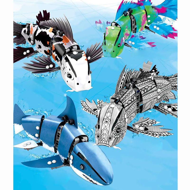 LegoINGlys 20089 20090 20091 20092 Die Forma Fisch Modell Blöcke Ziegel Pädagogisches DIY Spielzeug für Kinder Weihnachten Geburtstag Geschenke