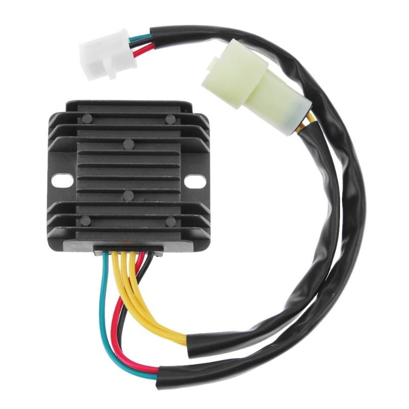 VODOOL 1pc 12V Motorcycle Voltage Rectifier Regulator for Honda ATV 300 TRX300 2x4 4x4 Car Styling Accessories