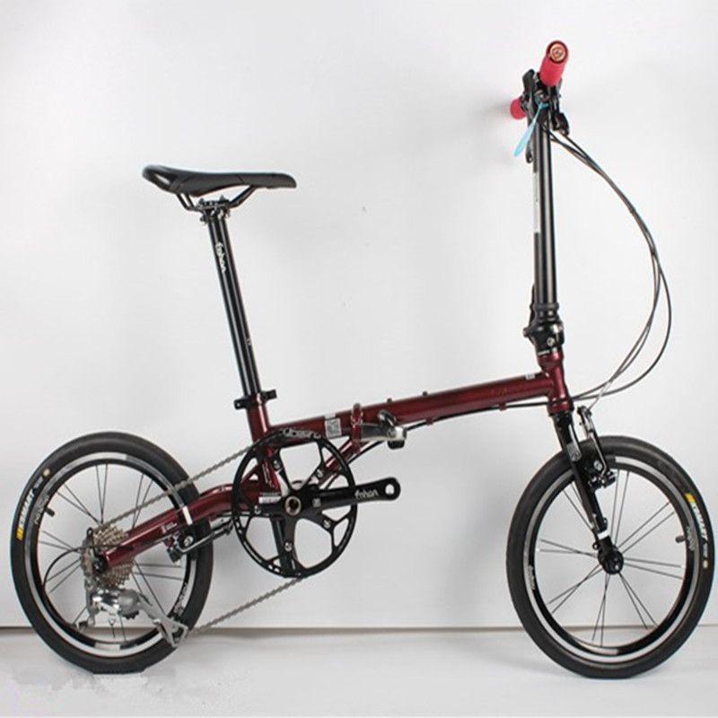 Ultra-licht 9-speed chrom-molybdän stahl faltrad Hohe qualität Kosten-effektive fahrrad Retro reise fahren freizeit BMX