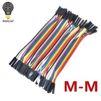 Wavgat 40 шт. Dupont 10 см Женский (F-f) джемпер Провода ленты кабель для Arduino
