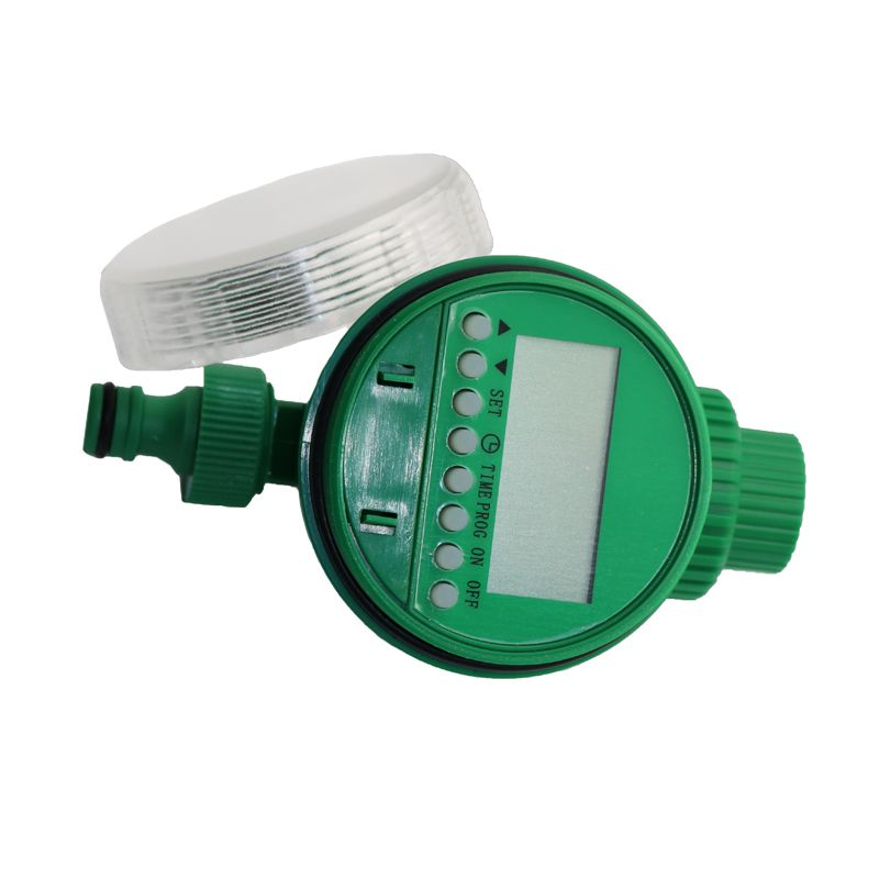 1pcs Electronic Lcd Water Control Valve, And A Garden Irrigation System Timer Intelligent Agricultural Water Solenoid Valve